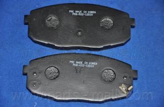 Колодки тормозные передние PMC PKB022PKB022