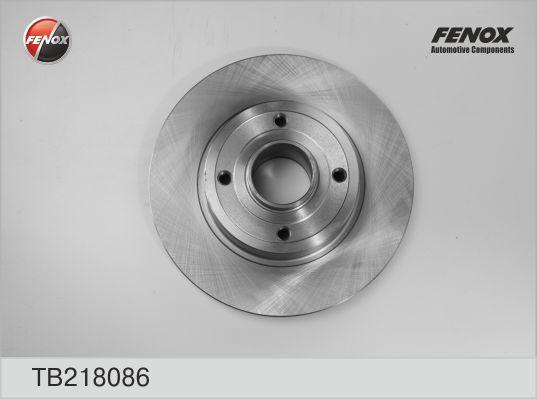 Диск тормозной Fenox TB218086TB218086