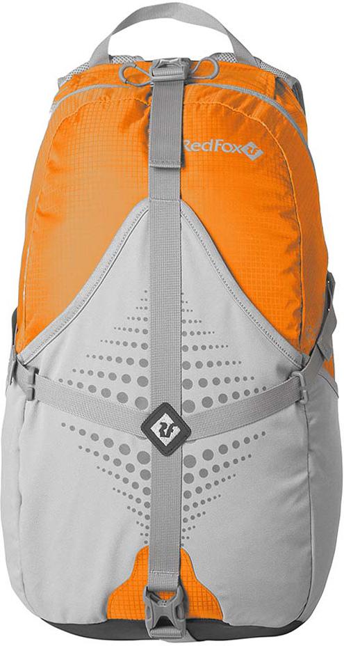 Рюкзак Red Fox  Racer Wire , цвет: оранжевый, асфальт, 20 л - Туристические рюкзаки