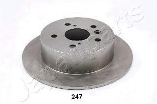 Диск тормозной задний Japanparts DP247 комплект 2 штDP247