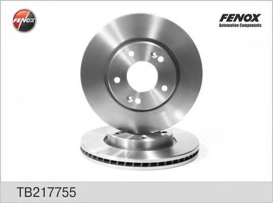 Диск тормозной Fenox TB217755 комплект 2 штTB217755