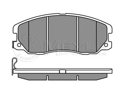 Колодки тормозные задние Meyle 0252451016W0252451016W