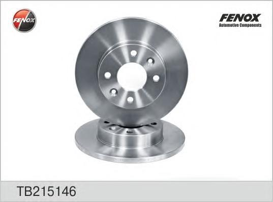 Диск тормозной Fenox TB215146 комплект 2 штTB215146