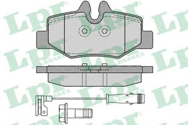 Колодки тормозные LPR / AP 05P124605P1246