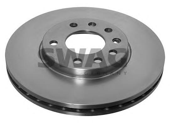 Диск тормознойSwag 40917211 комплект 2 шт40917211