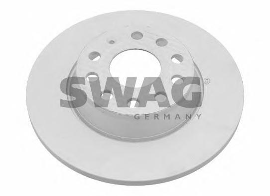 Swag Диск тормозной задний Audi A3 VW Golf 5 Passat Skoda 02. 3092438230924382