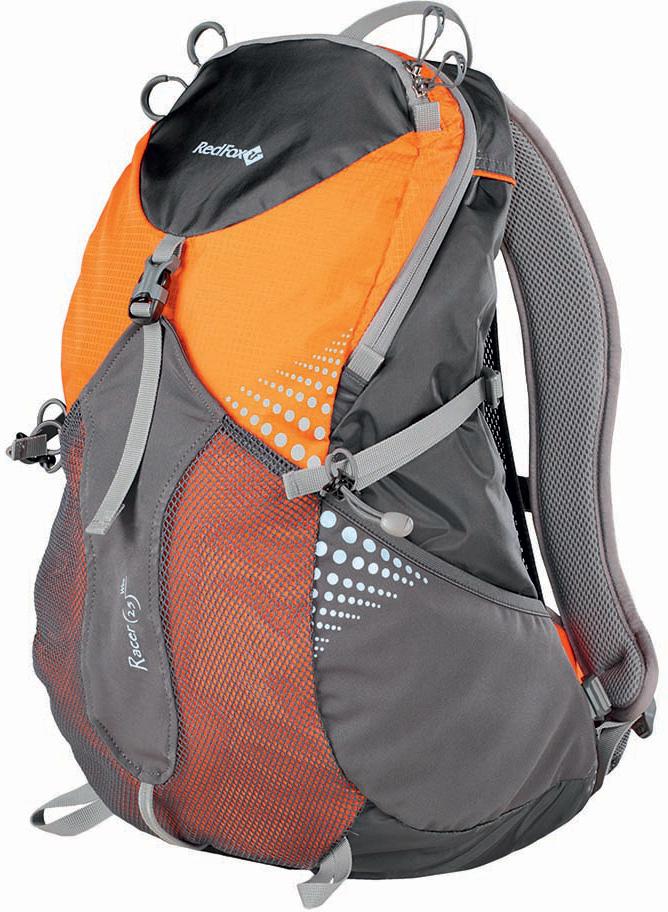 Рюкзак Red Fox  Racer Wire , цвет: оранжевый, асфальт, 25 л - Туристические рюкзаки