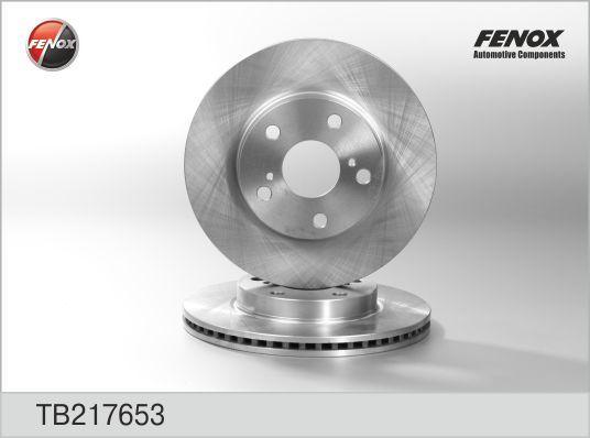 Диск тормозной Fenox TB217653 комплект 2 штTB217653