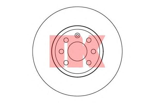 Диск тормозной NK 203651 комплект 2 шт203651