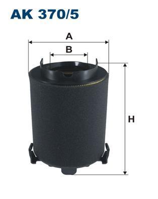 Фильтр воздушный Filtron AK3705AK3705