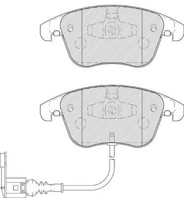 Колодки тормозные дисковые Premier Ferodo FDB4057FDB4057