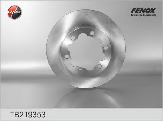 Диск тормозной Fenox TB219353TB219353