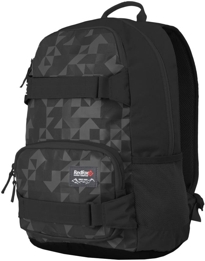 Рюкзак Red Fox  Street V2 , цвет: черный, 25 л - Туристические рюкзаки