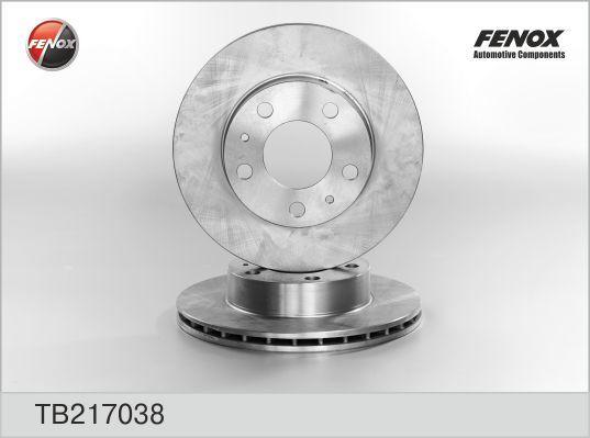 Диск тормозной Fenox TB217038 комплект 2 штTB217038