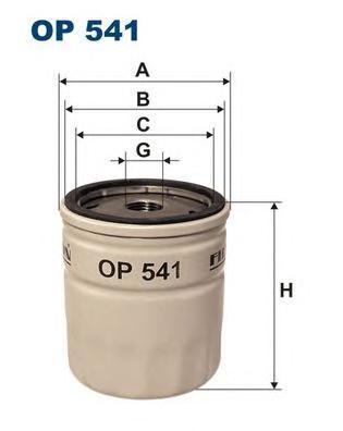 Фильтр масляный Filtron OP541OP541