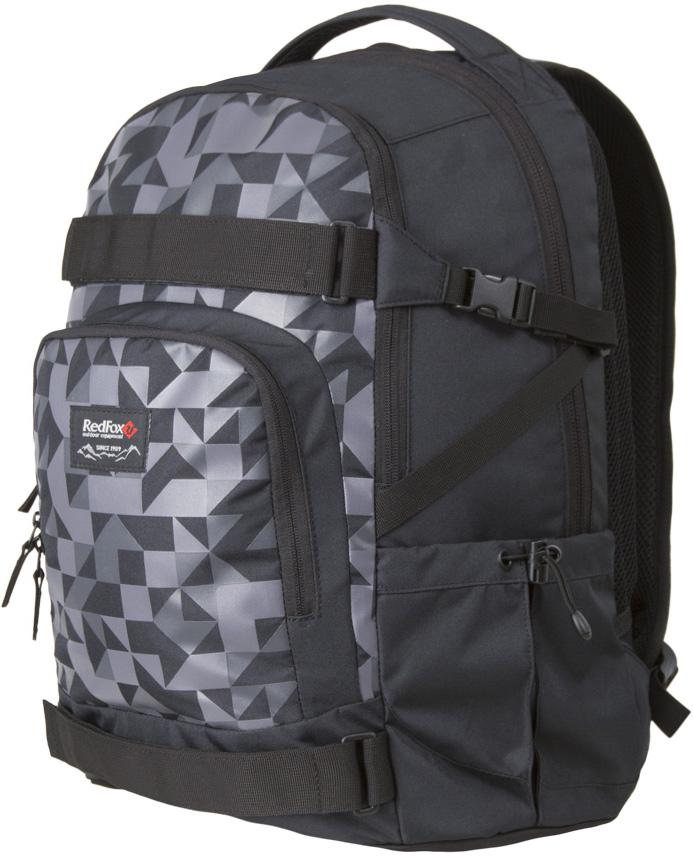 Рюкзак Red Fox  Street V2 , цвет: черный, 29 л - Туристические рюкзаки