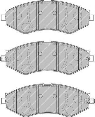 Колодки тормозные дисковые Premier Ferodo FDB1905FDB1905