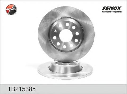 Диск тормозной Fenox TB215385TB215385