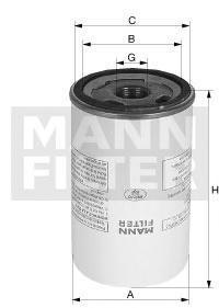Корпусной воздушно-масляный сепараторMann-Filter LB95020LB95020