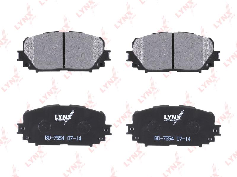 Колодки тормозные передние Lynx BD7554BD7554
