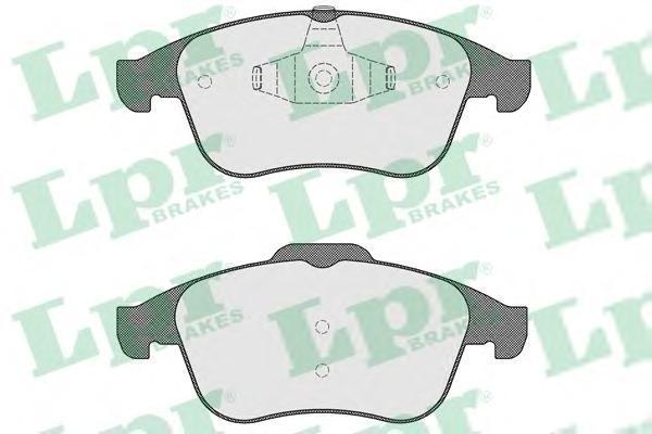Колодки тормозные передние LPR / AP 05P153405P1534