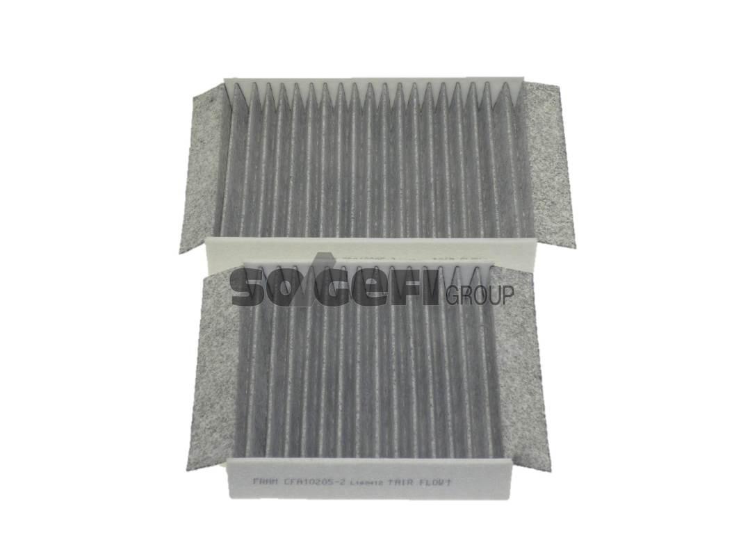 Фильтр салона угольный Fram,CFA102052CFA102052