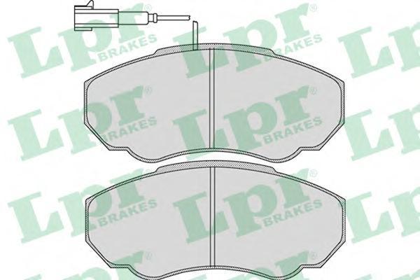 Колодки тормозные передние LPR / AP 05P96605P966