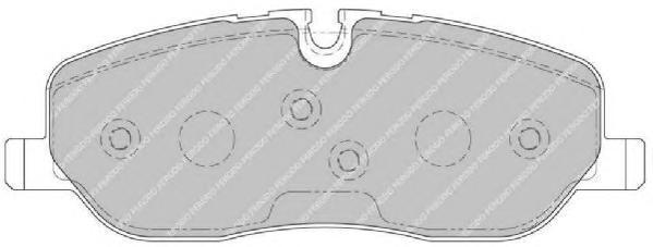 Колодки тормозные дисковые Premier Ferodo FDB1615FDB1615