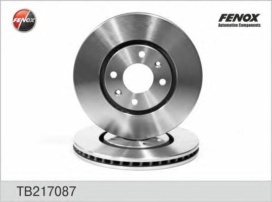 Диск тормозной Fenox TB217087TB217087