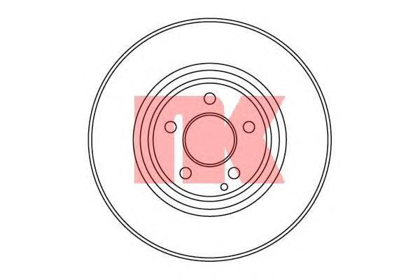 Диск тормозной NK 203382 комплект 2 шт203382