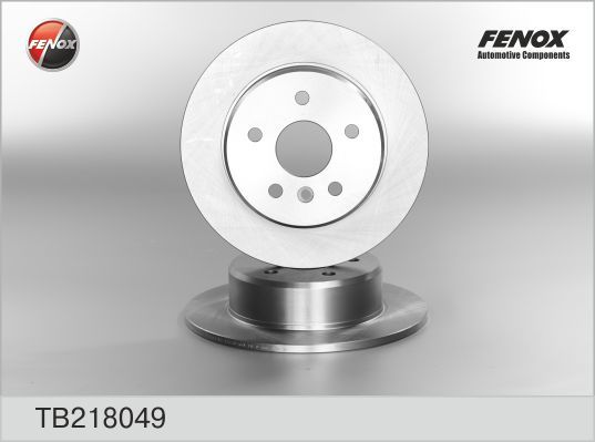 Диск тормозной Fenox TB218049 комплект 2 штTB218049