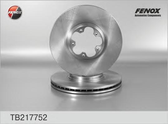 Диск тормозной Fenox TB217752 комплект 2 штTB217752