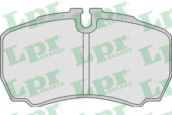 Колодки тормозные задние LPR / AP 05P83005P830