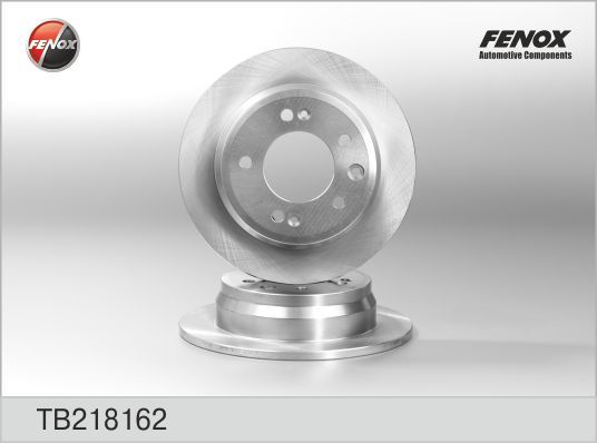 Диск тормозной Fenox TB218162 комплект 2 штTB218162