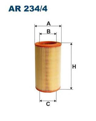 Фильтр воздушный Filtron AR2344AR2344
