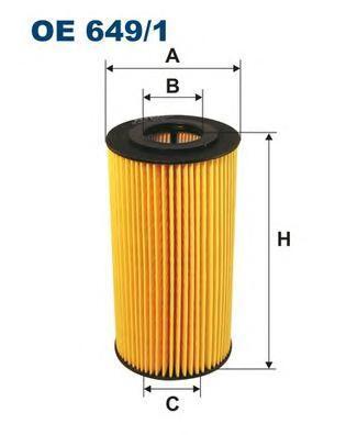 Фильтр масляный Filtron OE6491OE6491