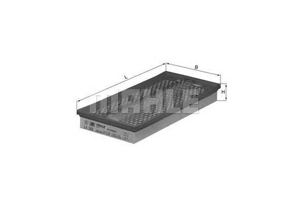 Фильтр воздушный Mahle/Knecht LX348LX348