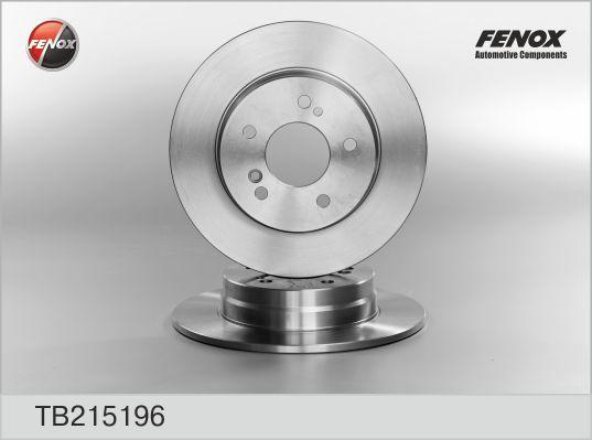 Fenox Диск тормозной. TB215196TB215196