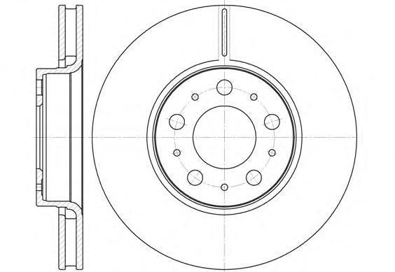 Диск тормозной передний вентилируемый Road House661910 комплект 2 шт661910