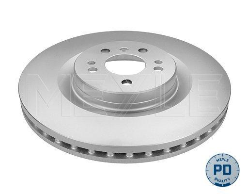 Диск тормозной передний вентилируемый 5 отв Meyle 0835212096PD комплект 2 шт0835212096PD