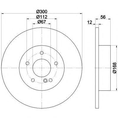 Диск тормозной Textar 92176503 комплект 2 шт92176503