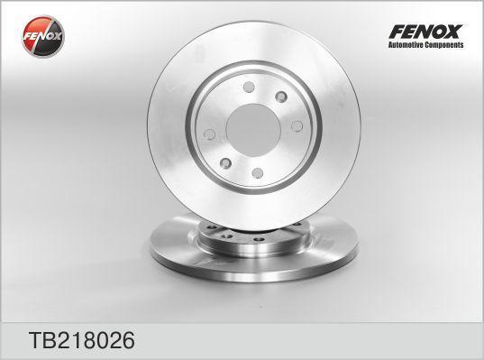 Диск тормозной Fenox TB218026 комплект 2 штTB218026