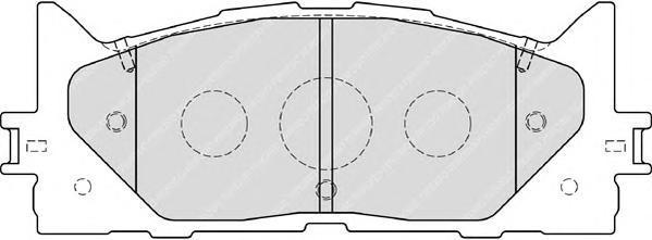 Колодки тормозные дисковые Premier Ferodo FDB1991FDB1991