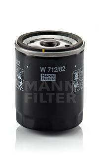 Масляный фильтрMann-Filter W71282W71282
