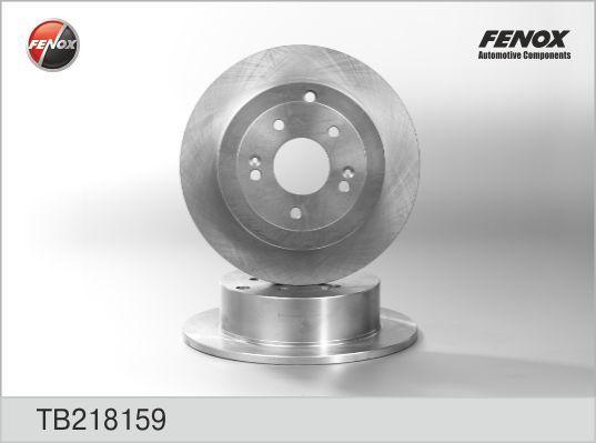 Диск тормозной Fenox TB218159 комплект 2 штTB218159