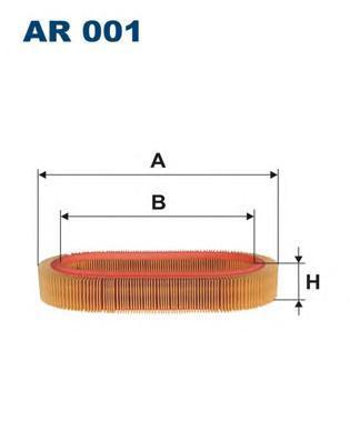 Фильтр воздушный Filtron. AR001AR001