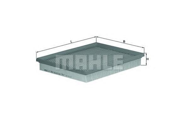Фильтр воздушный Mahle/Knecht LX1662LX1662