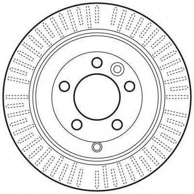 Диск тормозной Jurid 562653JC комплект 2 шт562653JC