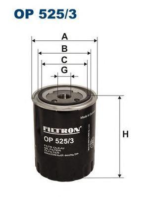 Фильтр масляный Filtron OP5253OP5253