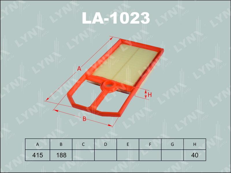 Фильтр воздушный Lynx LA1023LA1023